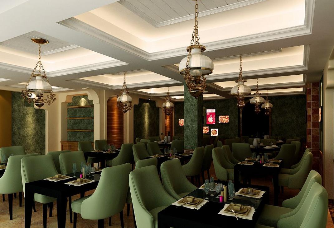 西餐厅装修原则_西餐厅装修效果图