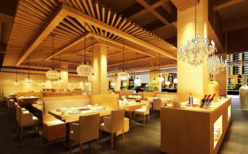 无锡高档餐厅装修 餐厅装修设计的个性应该是与建筑