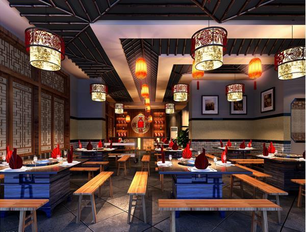 这几种风格的火锅店装修配合营销型餐饮设计,绝对可以将营业额提升30%
