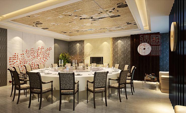 无锡餐饮空间设计包厢,国丰无锡装饰公司
