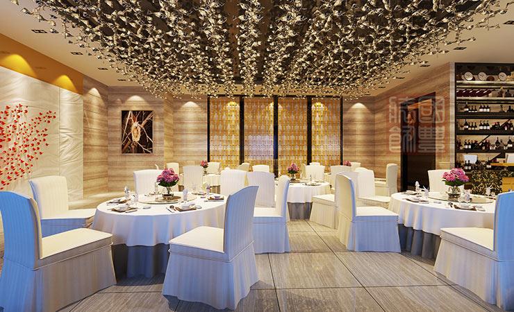 无锡餐饮空间设计大堂,国丰无锡装饰公司