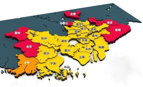 合肥到扬州地图