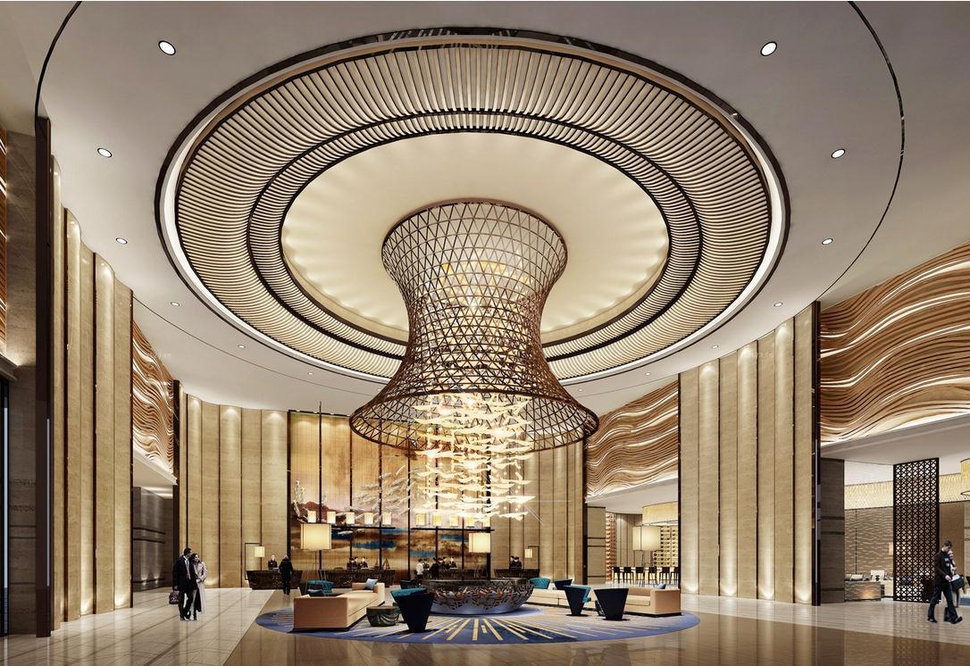 欧式古典风格酒店建筑采用文艺复兴