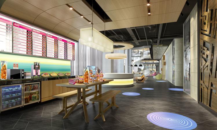 无锡奶茶店装修 无锡店铺装修设计公司