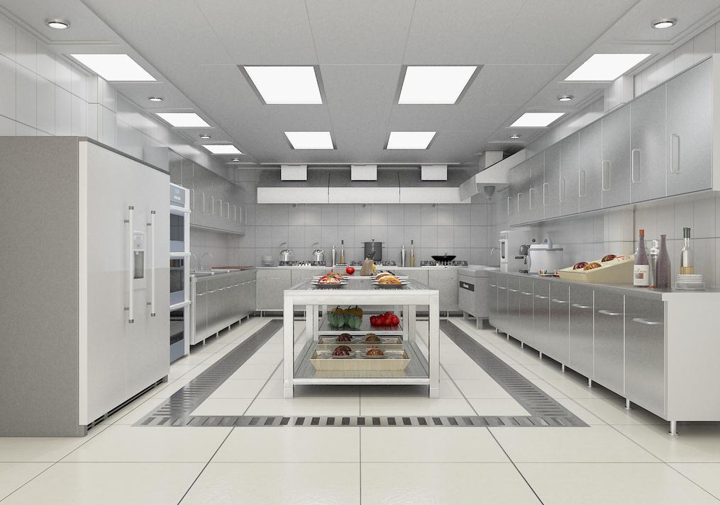 無錫飯店廚房內部裝修布局設計