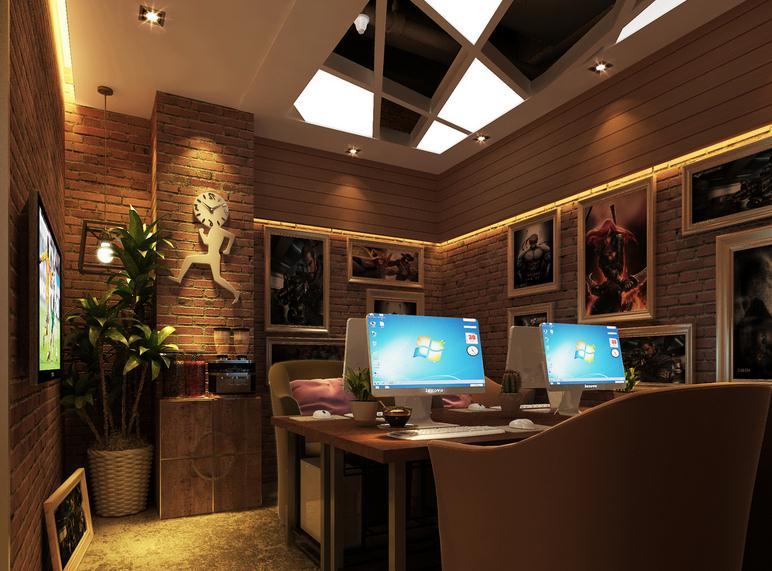 无锡网咖装修设计方案 - 无锡国丰装饰公司