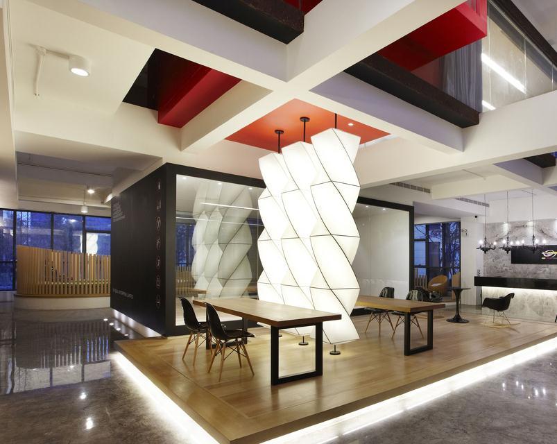 无锡办公室装饰设计项目