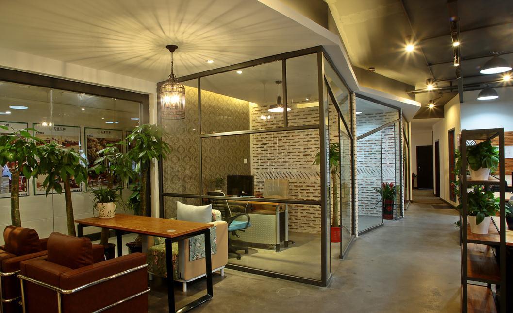 无锡现代美式办公室装饰设计图片