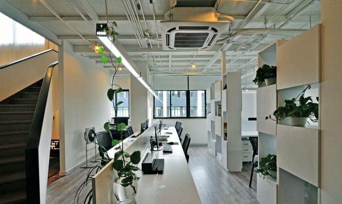无锡办公室装修透明设计