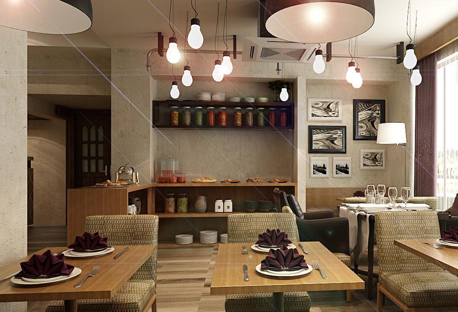 无锡咖啡馆空间设计