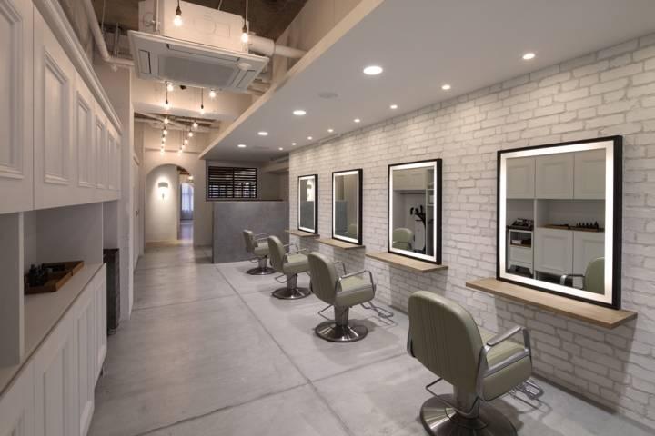 无锡美发店装修设计重点 - 无锡国丰装饰公司