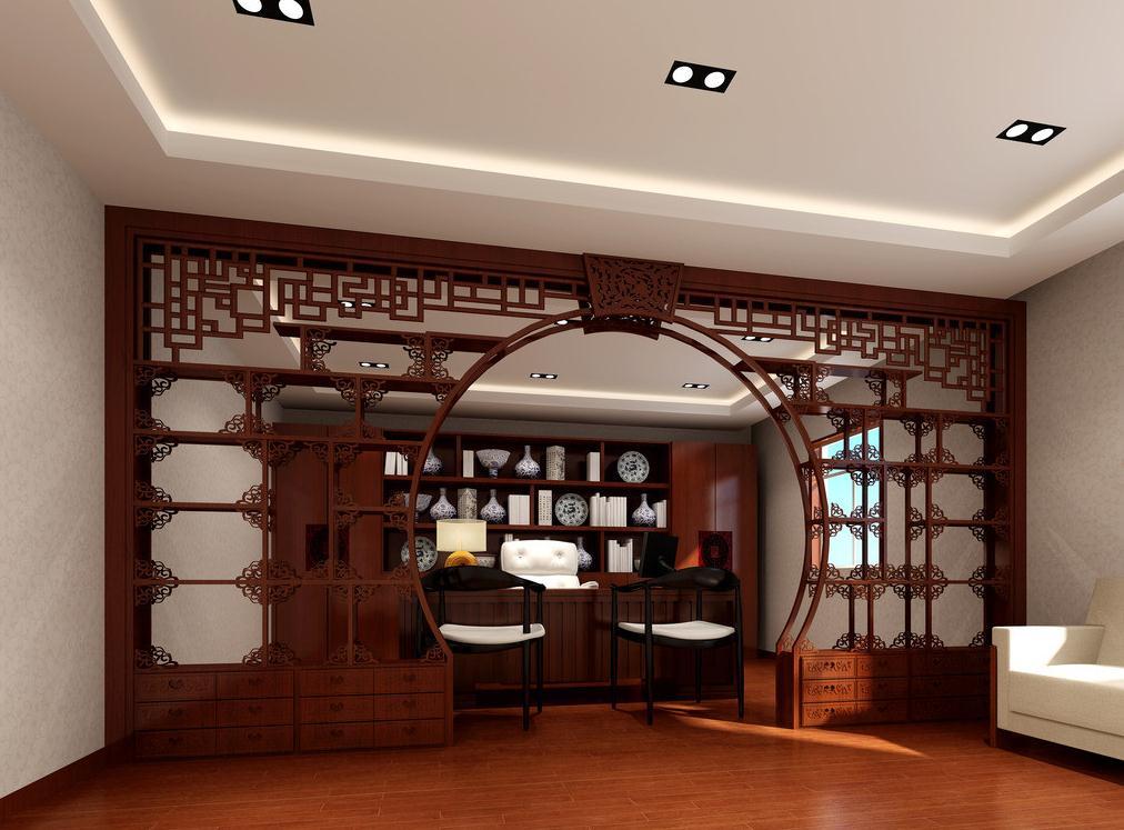 无锡中式办公室装修风格