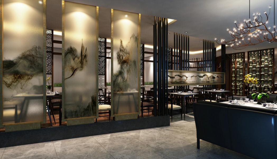 """崇安区日式料理店装修空间分隔常用的形式:   1.灯具分隔。设计得当的灯具,能够起到一种有效分割空间的效果,而且还能给人一种""""隔而不断""""的朦胧感觉。使用灯具对日本料理店空间进行分割,不仅能够起到实际分割的效果,而且还能在本质上保持日本料理店空间的一体性,以达到一种便于空气流通、视野开阔的良好效果。   2."""