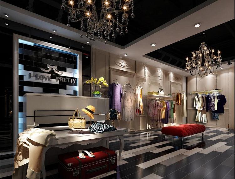 无锡女装店面装修设计 - 无锡国丰装饰公司