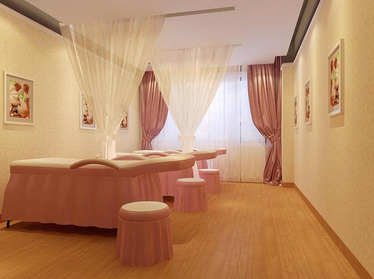 无锡高级美容spa会所装修