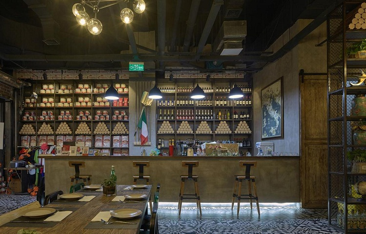 无锡咖啡厅吧台设计