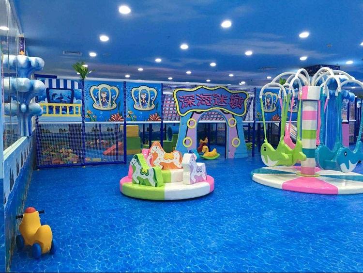 无锡室内儿童乐园装修设计
