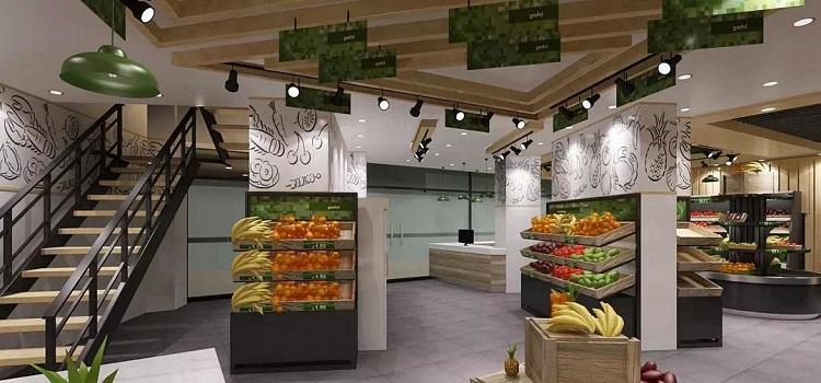 无锡水果店装修布局简单的说,水果店装修要明快简洁,以绿色等清爽的颜色为主。出口和入口分开,便于引导顾客采购路线。付款和过秤处也分开,节约付款时间。   一定不要让顾客等待超过3分钟,不然顾客会烦。 在门两侧合适的地方可以装上镜子,使水果店看上去品种更加繁多、琳琅满目,非常抢眼。   建议针对灯光进行必要的设计,以突出你的水果的新鲜性。建议购买几台小型的雾化器,对水果进行喷雾,以保持其新鲜性,也防止水分的流失。   首先店面招牌广告规划: 店面广告要想引起注意,必须以简洁的形式、新颖的格调、和谐的色彩