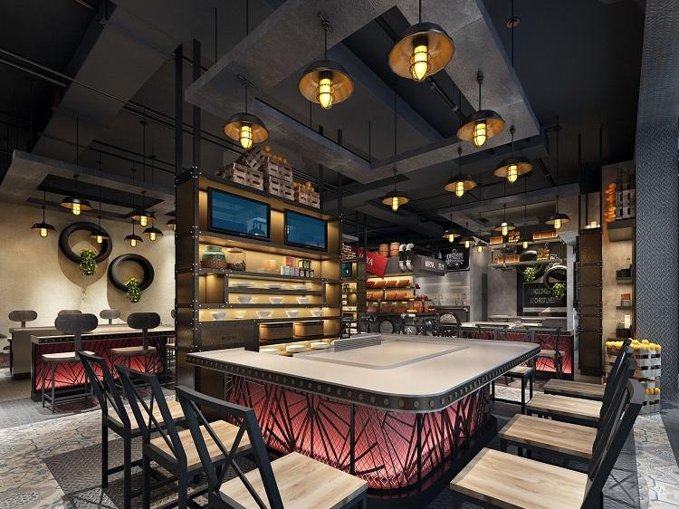 那么餐饮店面装修设计效果图常见问题主要有哪些?又该如何解决?