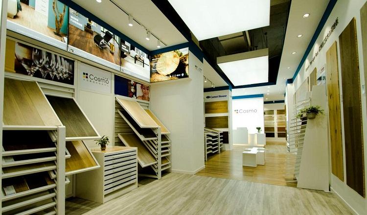 无锡地板展厅设计