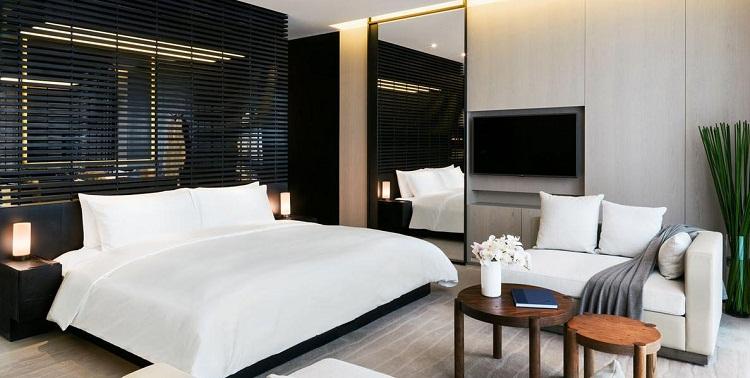 首先小型宾馆装修设计一定要干净洁净,因为现在人们普遍的都比较爱