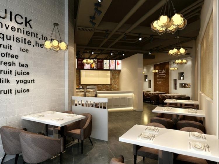 无锡奶茶店装修形象设计 - 无锡国丰装饰公司