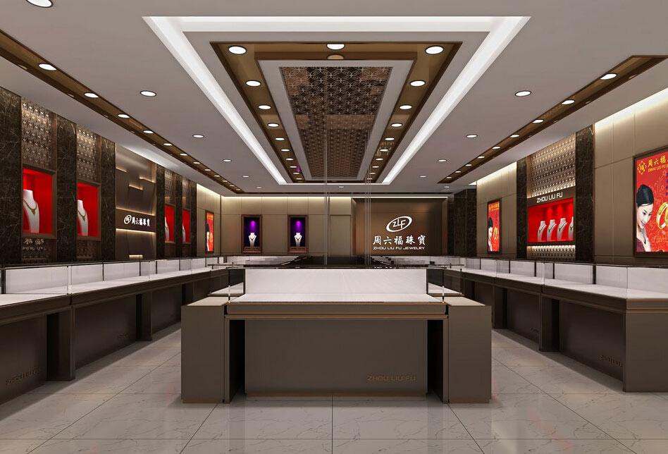 无锡珠宝店装修设计风格