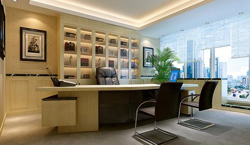 小资办公场景桌面