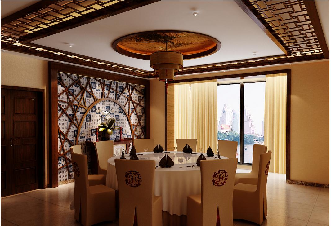 中式餐厅装修要素_中式餐厅装修设计风格